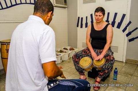 Cuban Percussion Lessons Cuba